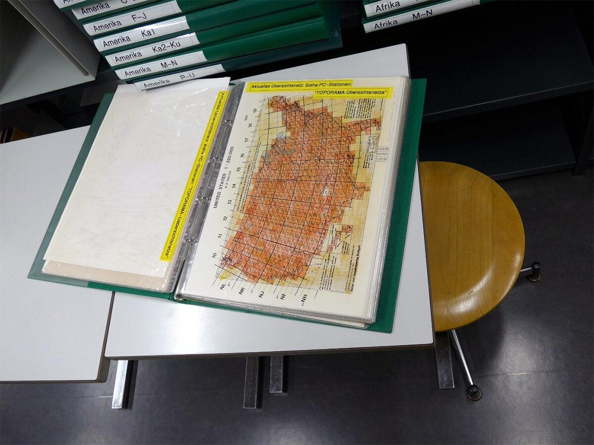 Gedruckte Übersichtsblätter (1972 bis ca. 2000).