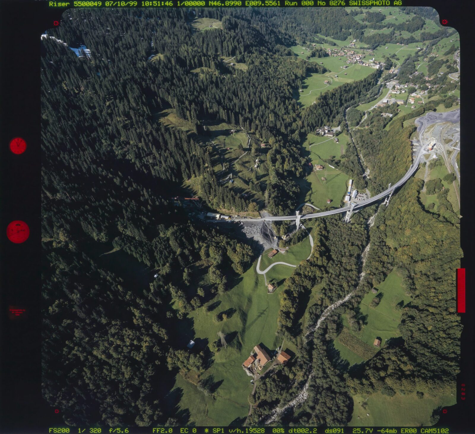 Without doubt, the most well-known structure by Christian Menn is the Sunniberg Bridge near Klosters in the canton of Graubünden, which was opened in 2005.