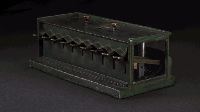 Schwilgué Tastenaddiermaschine, 1851